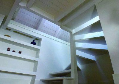 Escalera lucernario: