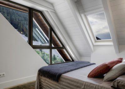 Dormitorio principal con vistas: