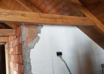Bajo cubierta obra - cocina